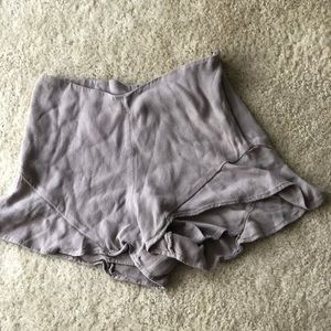 Free People Ruffle Shorts